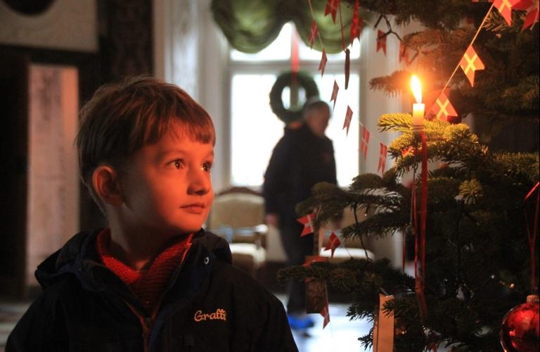 Jul på Gammel Estrup